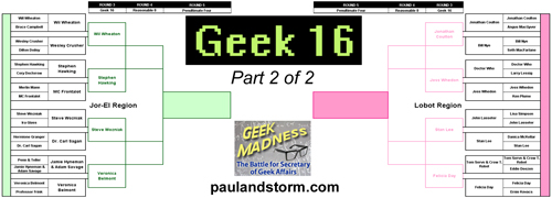 Geek 16 Part II