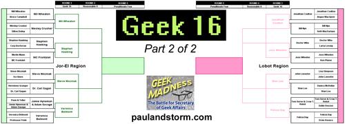 Geek 16 Part II