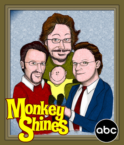 Monkey Shines Promo Poster