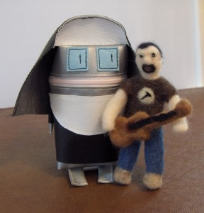 Robot Nun and Felted Storm